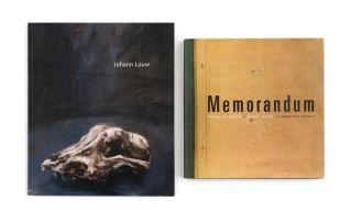 Van Niekerk, Marlene and van Zyl, Adriaan & Van Zyl, Marelize; Memorandum & Johann Louw (catalogue)