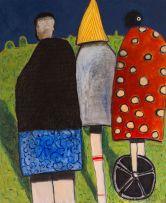 Colbert Mashile; Three Figures