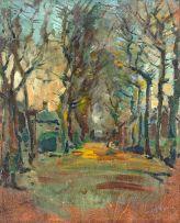 Pieter Wenning; Oak Avenue, near Newlands House