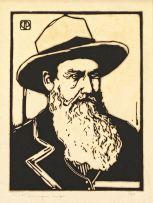 Jacob Hendrik Pierneef; Portret van 'n Voortrekker (Nilant 136)