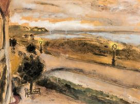 Maud Sumner; The Street by Night