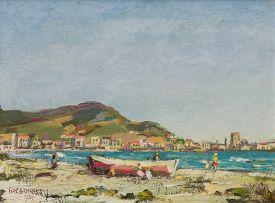Gregoire Boonzaier; On the Beach