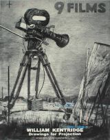 William Kentridge; 9 Films - Poster for Spier Arts Summer Season 03/04
