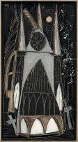 Cecily Sash; A Church by Moonlight