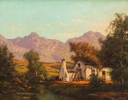 Tinus de Jongh; Farmhouse