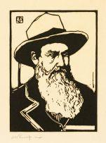 Jacob Hendrik Pierneef; Portret van n Voortrekker (Nilant 136)