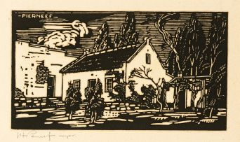 Jacob Hendrik Pierneef; Jess Cottage, Pretoria (Nilant 30)