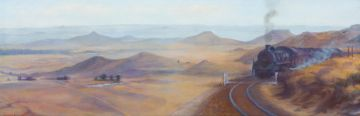 Maud Sumner; Steam Train in the Karoo