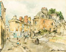 Terence McCaw; Street Scene, City of Bath