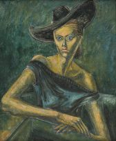 Eugene Labuschagne; Portrait of the Artist's Wife (Lydia)