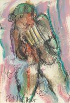 Frans Claerhout; Figure with Pan Flute