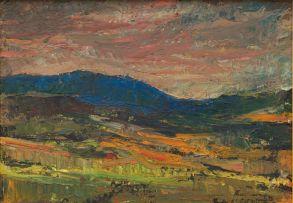 James Thackwray; Mountain Landscape