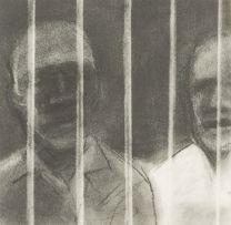 Sam Nhlengethwa; Behind Bars
