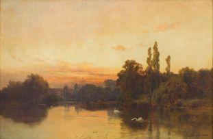 Alfred de Breanski Snr; Twickenham Ferry