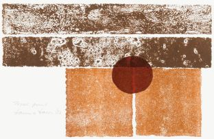 Hannes Harrs; Composition with Circle