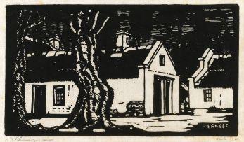 Jacob Hendrik Pierneef; Stalle, Huis van Biskop Bousfield, Pretoria (Nilant 33)