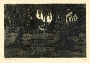 Jacob Hendrik Pierneef; Tree Roots