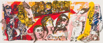 William Kentridge and Deborah Bell and Robert Hodgins; Aida etc.