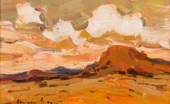 Adriaan Boshoff; Landscape with Mountain