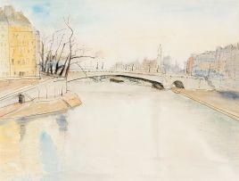 Maud Sumner; River Seine, Paris