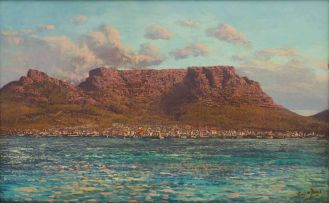 Tinus de Jongh; View of Table Mountain