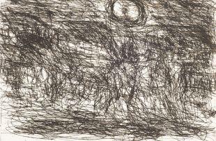 David Koloane; Moonlight with Dogs