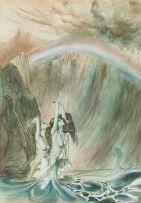 Arthur Rackham; Mermaids of the Rhine