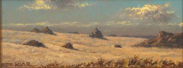 Otto Klar; Autumnal Landscape