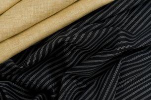 Andrea Borghi / Elégance Combination of linen and cotton.