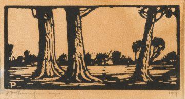 Jacob Hendrik Pierneef; Three Trees