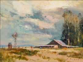 Christopher Tugwell; Old Farm Sheds