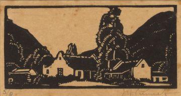 Jacob Hendrik Pierneef; Plaasgeboue (Nilant 44)