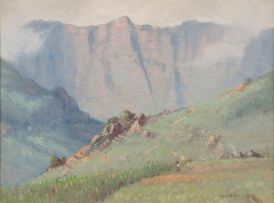 Willem Hermanus Coetzer; Drakensberg near Mont-aux-Sources