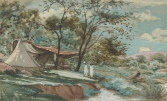 Erich Mayer; Campsite (St Helena)