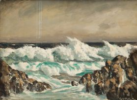 George William Pilkington; Afternoon Surf