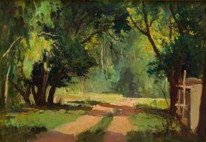 Titta Fasciotti; Pathway and Trees