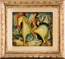 Alexis Preller; Horseman