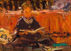 Adriaan Boshoff; Girl Reading