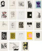 Various; Portfolio of Graphic Arts in Honour of Heather Martienssen, twenty three