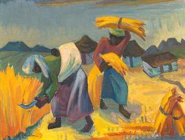 Maggie Laubser; Harvesters