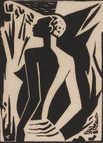 Maurice van Essche; Nude in Profile