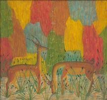 Mulongoy Pili Pili; Two Gazelles