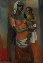 Maurice van Essche; Mother and Child