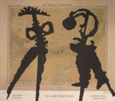 William Kentridge; Goodman Gallery, Johannesburg, March 2003, Exhibition Poster