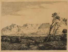 Tinus de Jongh; Table Mountain, Cape Town