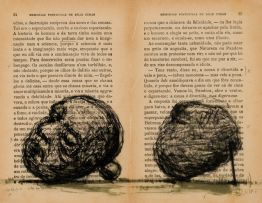 William Kentridge; Braz Cubas (Head and Stone)
