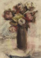 Pieter van der Westhuizen; Flowers in a Vase