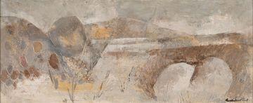 Gordon Vorster; Grey Painting