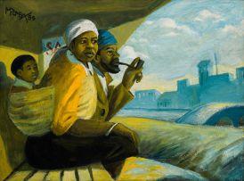 George Milwa Mnyaluza Pemba; The Bus Shelter