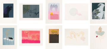 Judith Mason; 10 Screenprints